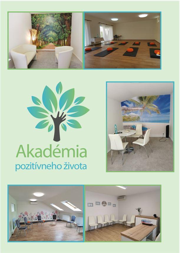 Prenájom priestorov Akadémia pozitívneho života Bratislava