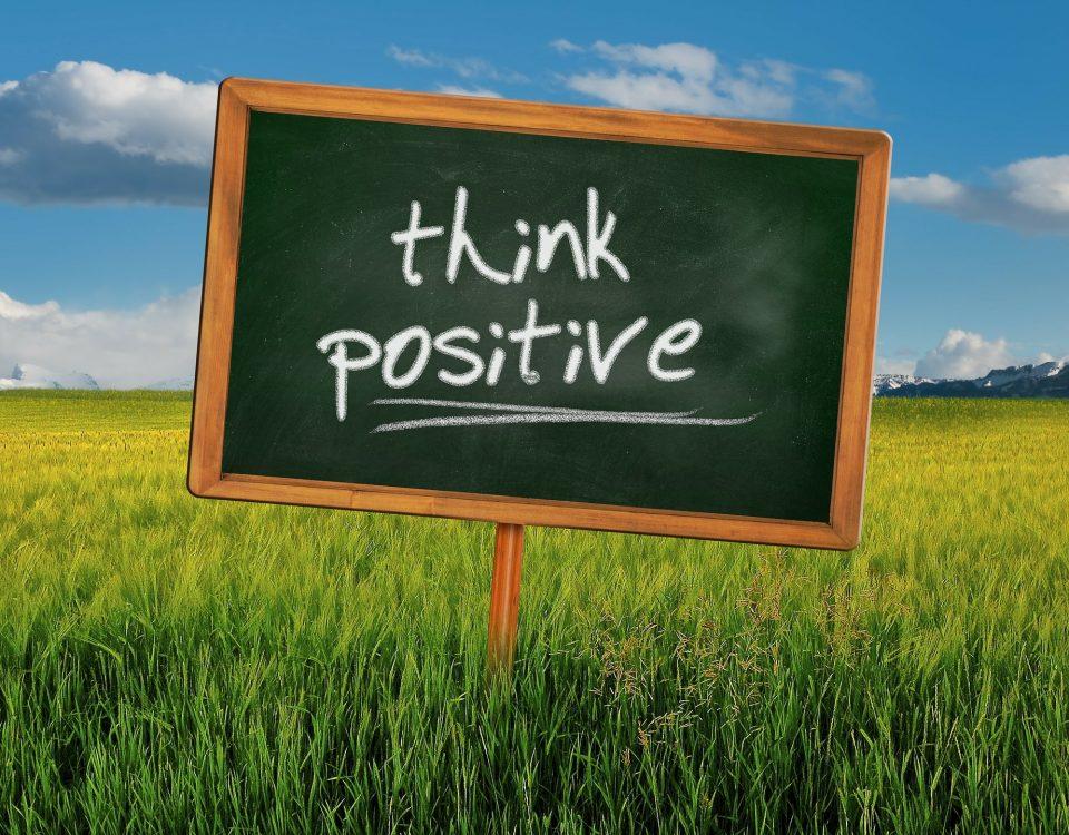 ako myslieť pozitívne